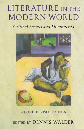 9780199253012: Literature in the Modern World: Critical Essays and Documents