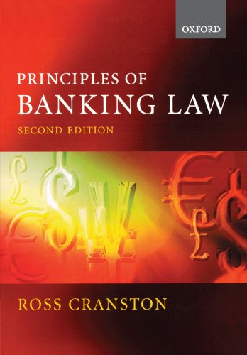 9780199253319: Principles of Banking Law