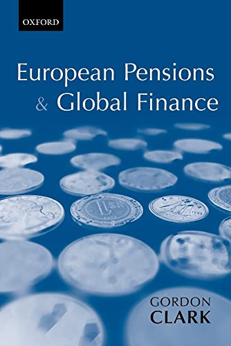 9780199253647: European Pensions & Global Finance