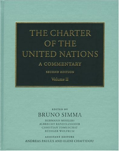 9780199253760: The Charter of the United Nations: A Commentary