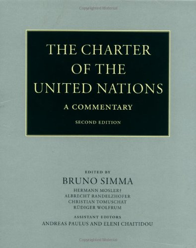 9780199253777: The Charter of the United Nations: A Commentary