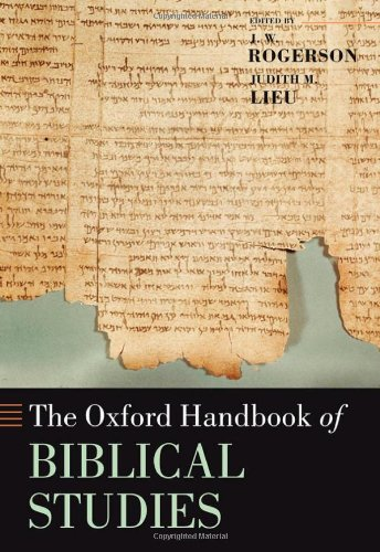 9780199254255: The Oxford Handbook of Biblical Studies (Oxford Handbooks in Religion and Theology)