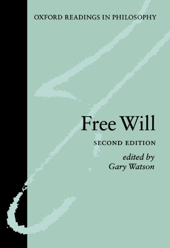 9780199254941: Free Will (Oxford Readings in Philosophy)