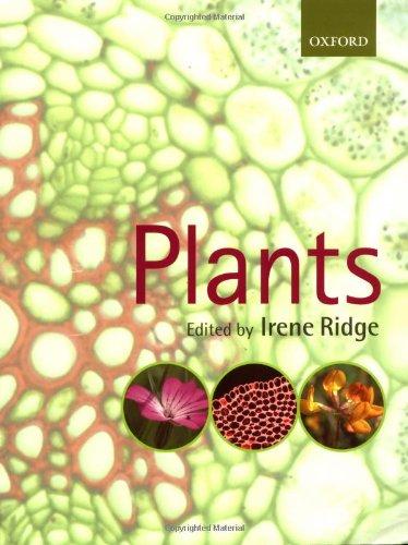9780199255481: Plants