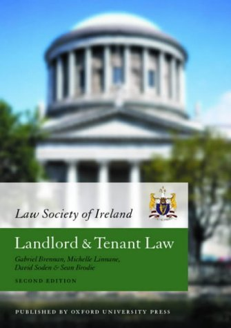 9780199255559: Law Society of Ireland Manual: Landlord and Tenant Law