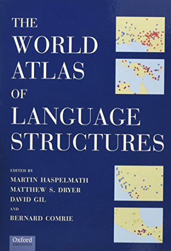 9780199255917: The World Atlas of Language Structures