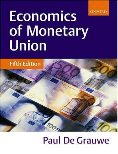 9780199256518: Economics of Monetary Union
