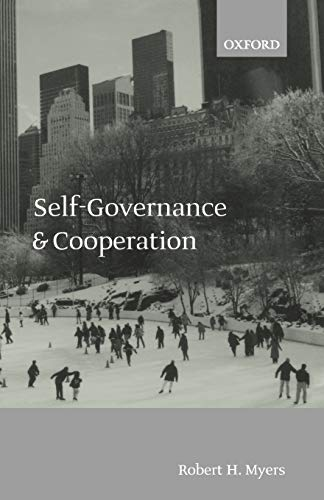 9780199256594: Self-Governance and Cooperation