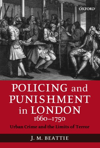 9780199257232: Policing and Punishment in London 1660-1750: Urban Crime and the Limits of Terror