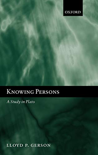 9780199257638: Knowing Persons: A Study in Plato