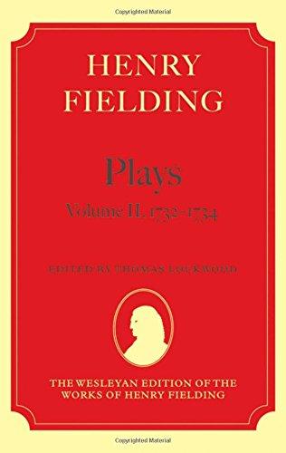 9780199257904: Henry Fielding - Plays, Volume II, 1732 - 1734 (Wesleyan Edition of the Works of Henry Fielding)