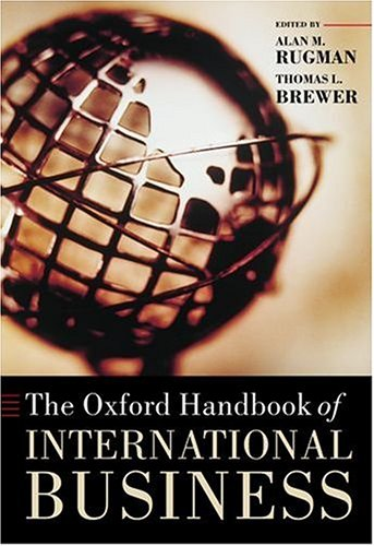 9780199258413: The Oxford Handbook of International Business (Oxford Handbooks)