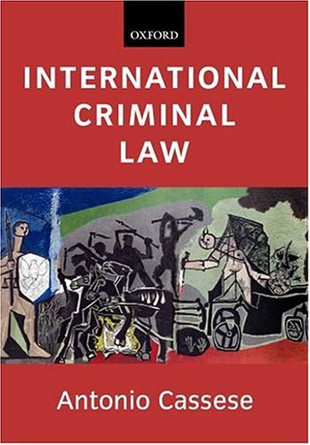 9780199259113: International Criminal Law