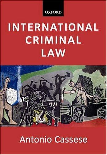 9780199259113: International Criminal Law