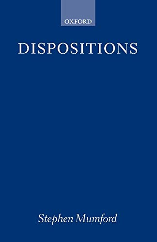 9780199259823: Dispositions