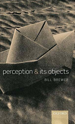 9780199260256: Perception and its Objects