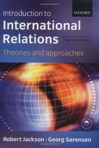 9780199260584: Introduction to International Relations: Theories and Approaches