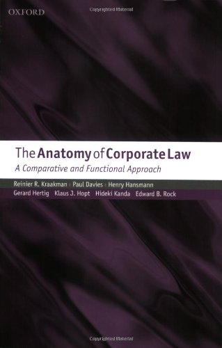 9780199260645: The Anatomy of Corporate Law: A Comparative and Functional Approach