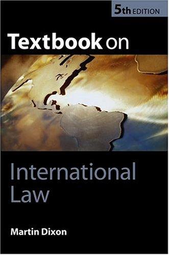 9780199260720: Textbook on International Law