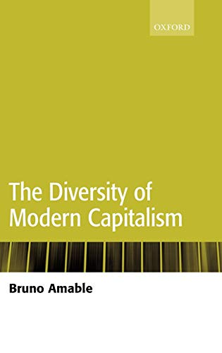 The Diversity of Modern Capitalism: Bruno Amable