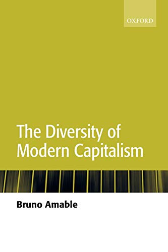 9780199261147: The Diversity Of Modern Capitalism
