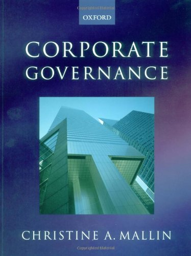 9780199261314: Corporate Governance