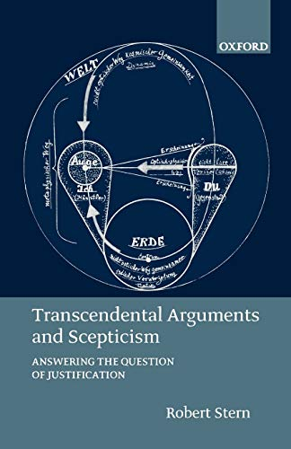 9780199261574: Transcendental Arguments and Scepticism: Answering the Question of Justification