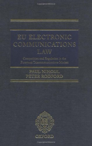 9780199263400: EU Electronic Communications Law: Competition and Regulation in the European Telecommunications Market