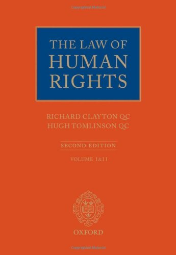 9780199263578: The Law of Human Rights (Law of Human Rights Series)