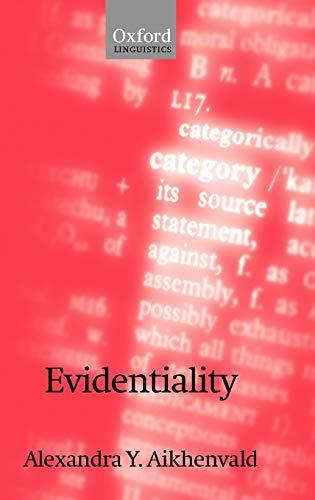 9780199263882: Evidentiality