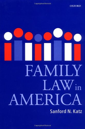 9780199264346: Family Law in America