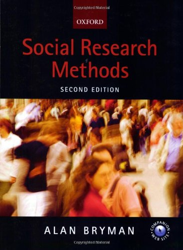 social research methods Social research methods third edition brings social research to life for students, using both theory and practical examples to illustrate the relevance of research methods in their future careers it equips students with the tools required to develop a clear understanding of the nature of research.