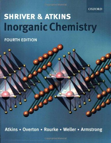 9780199264636: Inorganic Chemistry