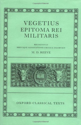 9780199264643: Vegetius: Epitoma rei militaris (Oxford Classical Texts)