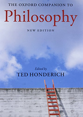 9780199264797: The Oxford Companion to Philosophy (Oxford Companions)