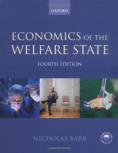 9780199264971: Economics of the Welfare State