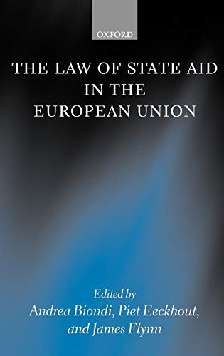 9780199265329: The Law of State Aid in the European Union
