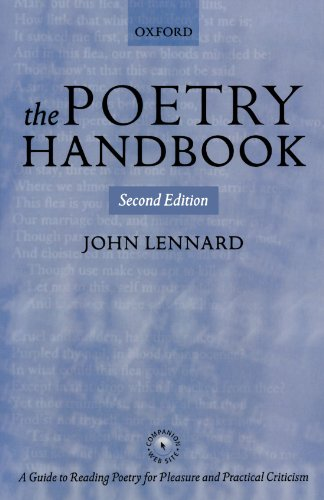 9780199265381: The Poetry Handbook