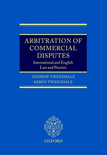 9780199265404: Arbitration of Commercial Disputes: International and English Law and Practice