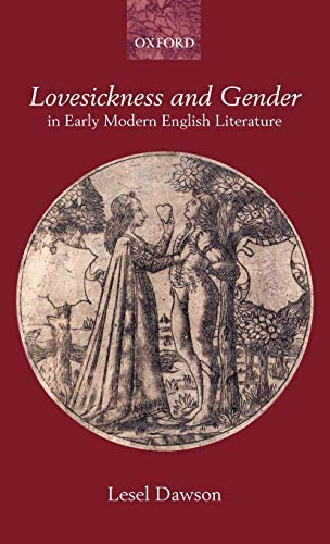 9780199266128: Lovesickness and Gender in Early Modern English Literature