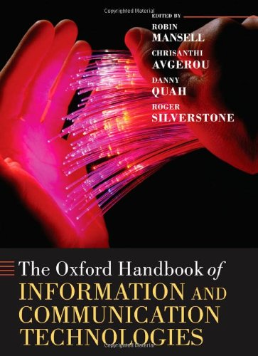 9780199266234: The Oxford Handbook of Information and Communication Technologies (Oxford Handbooks in Business and Management)