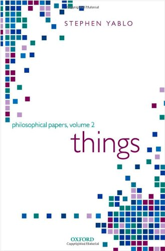 Things. Papers on Objects, Events, and Properties.: YABLO, S.,