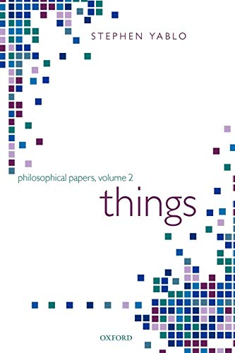 9780199266494: Things: Papers on Objects, Events, and Properties (Philosophical Papers)