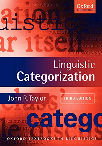 9780199266647: Linguistic Categorization (Oxford Textbooks in Linguistics)