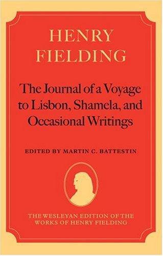 Henry Fielding - 'the Journal of a: Battestin, Martin C.
