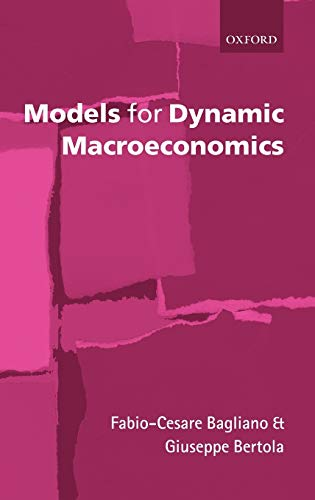 9780199266821: Models for Dynamic Macroeconomics