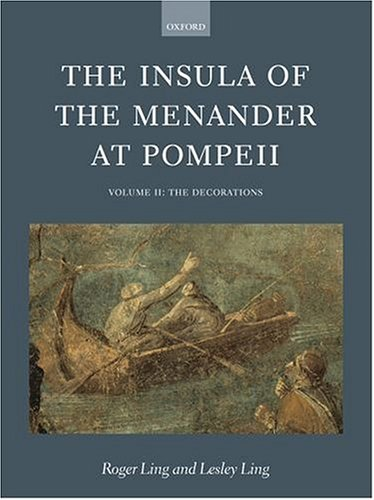 9780199266951: The Insula of the Menander at Pompeii: Volume II: The Decorations Volume II: The Decorations