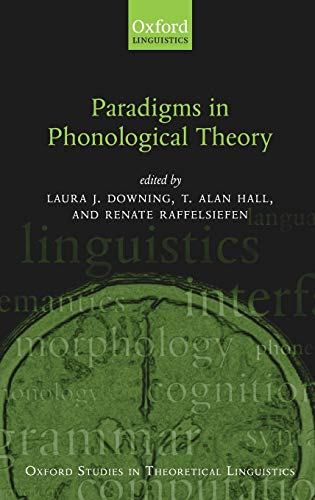 9780199267705: Paradigms in Phonological Theory (Oxford Studies in Theoretical Linguistics)