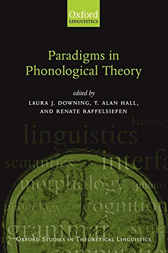 9780199267712: Paradigms in Phonological Theory (Oxford Studies in Theoretical Linguistics)