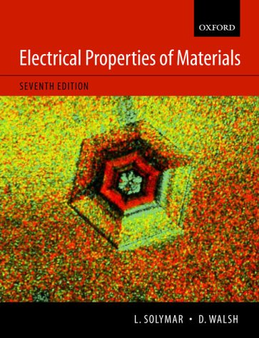 9780199267934: Electrical Properties of Materials